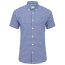 Buy John Lewis Shadow Check Short Sleeve Shirt Online at johnlewis.com