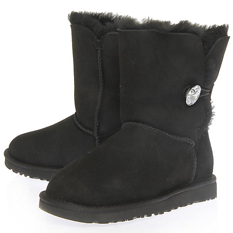 Buy UGG Bailey Bling Swarovski Button Boots Online at johnlewis.com