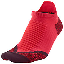 Buy Nike Elite Cushioned No-Show Tab Running Socks Online at johnlewis.com