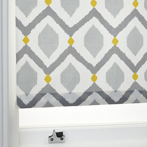 Buy John Lewis Indah Daylight Roller Blind Grey Saffron