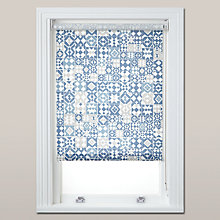 Buy John Lewis Kalkan Daylight Roller Blind, Blue Online at johnlewis.com