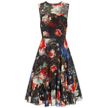 Buy Hobbs Guildhall Dress, Black/Multi Online at johnlewis.com