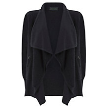 Buy Mint Velvet Double Layer Cardigan, Charcoal Online at johnlewis.com
