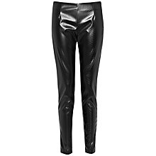 Buy French Connection Killacroc Leggings, Black Online at johnlewis.com
