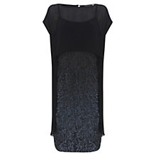 Buy Mint Velvet Wrap Embellished Dress, Ink Online at johnlewis.com