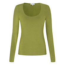 Buy Jigsaw Double Front Scoop Neck T-Shirt Online at johnlewis.com