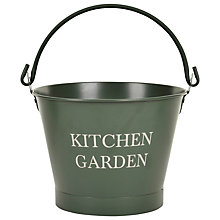 Buy Garden Trading Kitchen Garden Bucket, Large Online at johnlewis.com