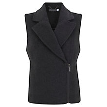 Buy Mint Velvet Unlined Gilet, Grey Online at johnlewis.com