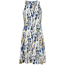 Buy Closet Tribal Print Tunic Dress, Cream Online at johnlewis.com