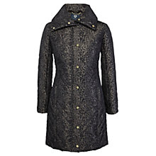 Buy Viyella Animal Print Parka, Espresso Online at johnlewis.com