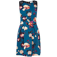 Buy Almari Floral Scuba Lace Back Dress, Multi Online at johnlewis.com