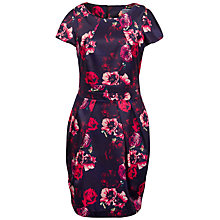 Buy Whistle & Wolf Floral Tailored Dress, Multi Online at johnlewis.com