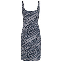 Buy French Connection Siberia Strappy Dress, Grey Otter Multi Online at johnlewis.com
