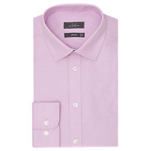 Buy John Lewis End-On-End Tailored Shirt, Pink Online at johnlewis.com