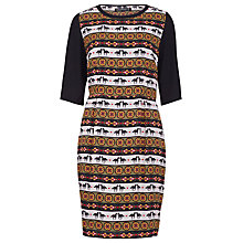 Buy Sugarhill Boutique Folk Fiesta Shift Dress, Black Online at johnlewis.com