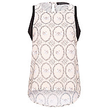 Buy Sugarhill Boutique Swan Cameo Top, Cream Online at johnlewis.com