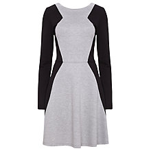 Buy Sugarhill Boutique Deedee Dress, Grey/Black Online at johnlewis.com
