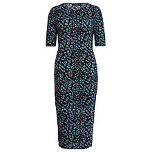 Buy Sugarhill Boutique Leopard Bodycon Dress, Teal Online at johnlewis.com