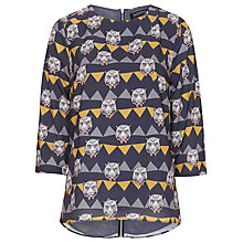 Buy Sugarhill Boutique Party Tiger Top, Black/Cream Online at johnlewis.com