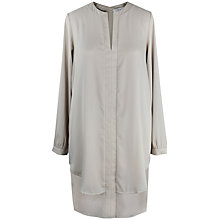 Buy Paisie Double Layer Shirt Dress, Silver Online at johnlewis.com