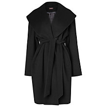 Buy Phase Eight Rosy Shawl Collar Coat, Black Online at johnlewis.com