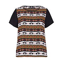Buy Sugarhill Boutique Folk Fiesta Top, Multi Online at johnlewis.com