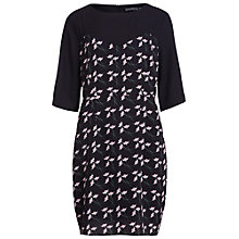 Buy Sugarhill Boutique Deco Flower Dress, Black Online at johnlewis.com