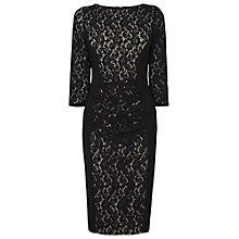 Buy Phase Eight Stephania Lace Dress, Black Online at johnlewis.com