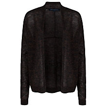 Buy French Connection Frost Sparkle Open Neck Cardigan, Gold Fleck Online at johnlewis.com