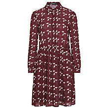 Buy Sugarhill Boutique Dina Shirt Dress, Wine Online at johnlewis.com