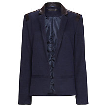 Buy Sugarhill Boutique Lexie Blazer, Navy/Black Online at johnlewis.com