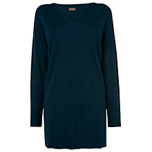 Buy Phase Eight Savanna Step Hem Tunic, Petrol Online at johnlewis.com