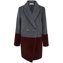 Buy Paisie Two Tone Jacket, Grey / Burgundy Online at johnlewis.com