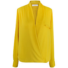 Buy Paisie Wrap Top, Yellow Online at johnlewis.com