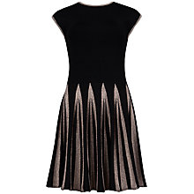 Buy Ted Baker Aleece Full Skirt Knit Dress, Black Online at johnlewis.com