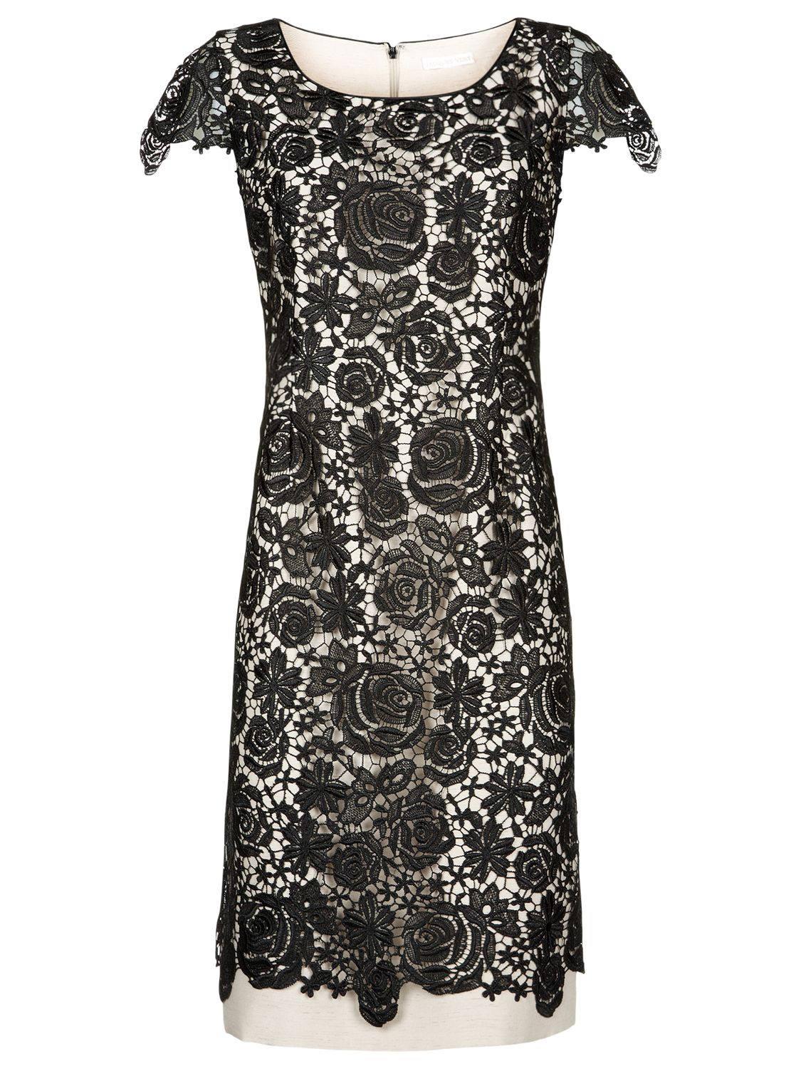 jacques vert lace layer dress black, jacques, vert, lace, layer, dress, black, jacques vert, clearance, womenswear offers, womens dresses offers, special offers, women, plus size, inactive womenswear, new reductions, womens dresses, 1725550