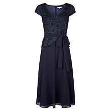 Buy Jacques Vert Cornelli Fit and Flare Dress, Monique Online at johnlewis.com