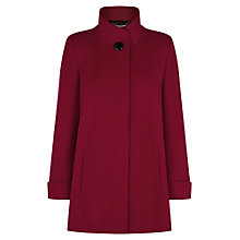 Buy Jacques Vert Short Red Swing Coat Online at johnlewis.com