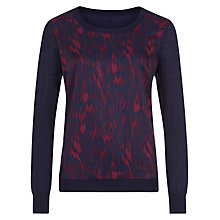 Buy Planet Animal Print Jumper, Multi Online at johnlewis.com
