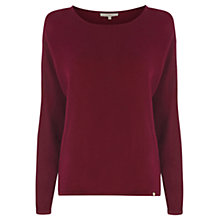 Buy Wishbone Eloise Silk Trim Knitted Jumper Online at johnlewis.com