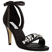 Buy COLLECTION by John Lewis Mimosa RaffIa Jewel Sandals Online at johnlewis.com