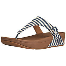 Buy FitFlop The Skinny Leather Thong Sandals Online at johnlewis.com