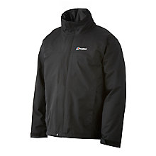 Buy Berghaus RG Alpha Waterproof Men's Jacket, Black Online at johnlewis.com