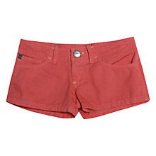 Buy Animal Girls' Tobee Shorts, Dark Pink Online at johnlewis.com