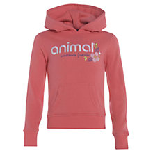 Buy Animal Children's Riban Hoodie, Pink Online at johnlewis.com