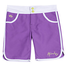 Buy Animal Girls' Fisha Board Shorts, Purple Online at johnlewis.com