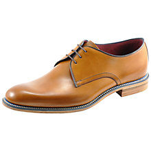 Buy Loake Drake Derby Shoes, Tan Online at johnlewis.com