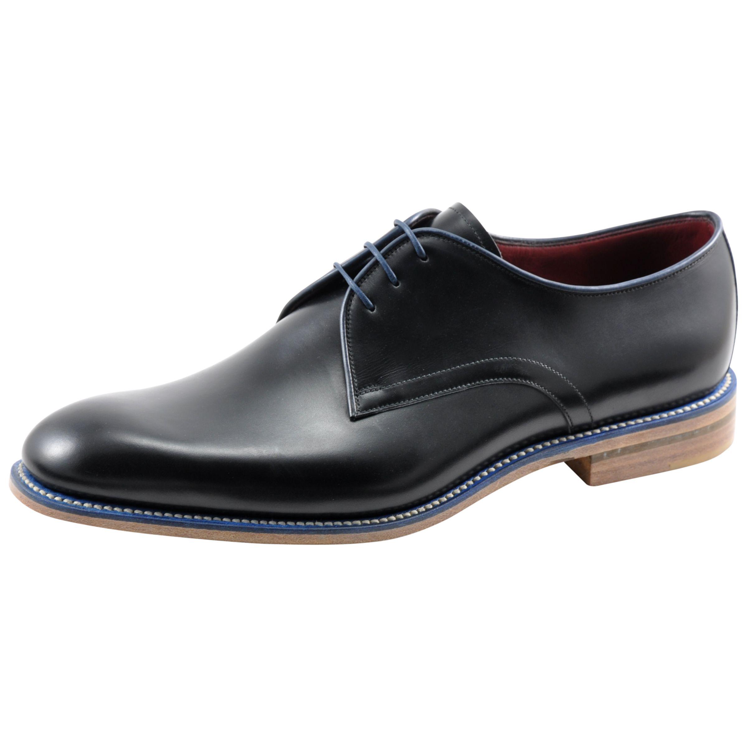 Loake Loake Drake Derby Shoes, Black