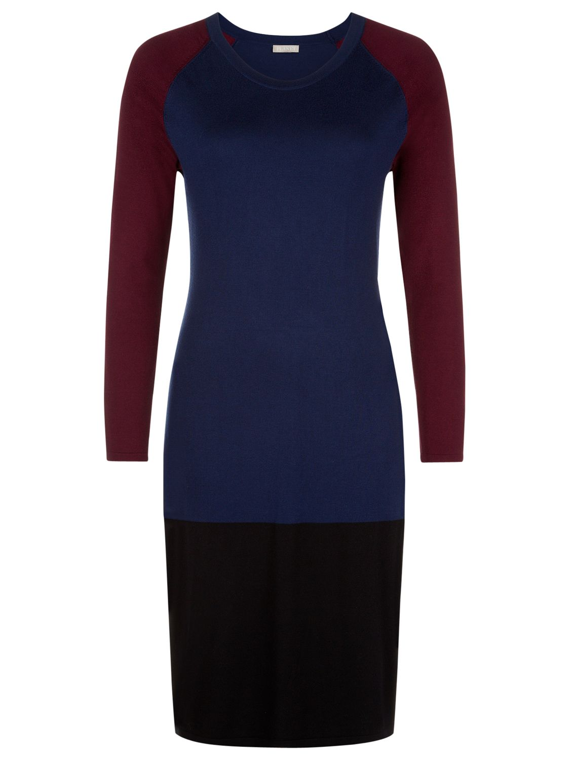 planet colour block knit dress multi, planet, colour, block, knit, dress, multi, 14|12, clearance, womenswear offers, womens dresses offers, women, plus size, inactive womenswear, new reductions, womens dresses, special offers, workwear offers, 1703512