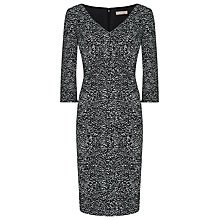 Buy Planet Speckle Print Dress, Black/Ivory Online at johnlewis.com